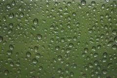 Water in het venster Stock Foto's