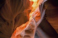 Water Holes Slot Canyon Royalty Free Stock Image