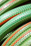 Water hose closeup royalty free stock photo