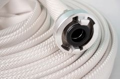 Water hose with couplings Stock Image