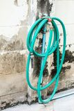 Water hose winder wall . royalty free stock photos