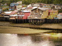 Water houses Royalty Free Stock Image