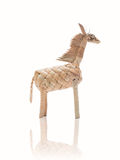 Water hyacinth horse weaved Royalty Free Stock Image