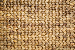Water hyacinth woven mat Royalty Free Stock Photo