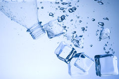 Water and ice Royalty Free Stock Photography