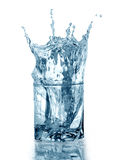 Water With Ice Royalty Free Stock Photos
