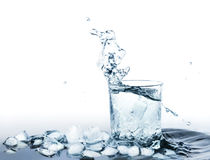 Water with ice Royalty Free Stock Images