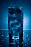 Water and Ice Stock Image