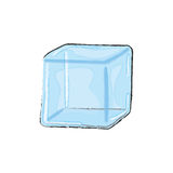 Water ice cube Stock Image