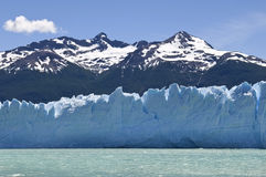 Water, ice and snow of Argentina Stock Photo