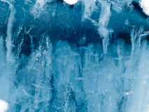 Water ice surface nature background texture Royalty Free Stock Photography