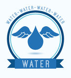 Water icon Stock Photo