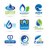 Water icon set - 2 Royalty Free Stock Photo