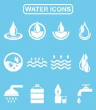Water icon Royalty Free Stock Photo