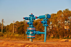 Water injection well Stock Images