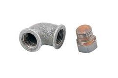 Water inlet pipe valve Stock Photos
