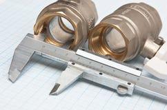 Water inlet valve Stock Photos
