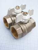 Water inlet valve Stock Images