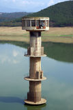 Water intake tower Royalty Free Stock Image