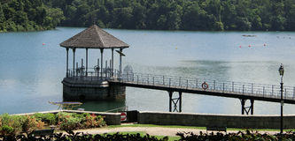 Water Intake Tower at MacRitchie Reservoir Royalty Free Stock Image