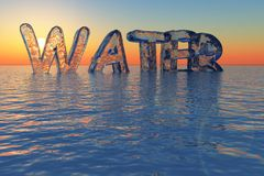 Water issues 2 Stock Images