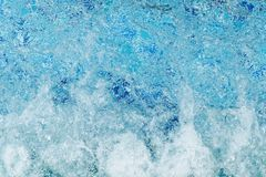 Water in jacuzzi royalty free stock photos