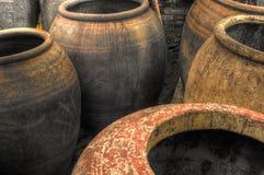 Water jars Royalty Free Stock Image