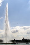 The Jet d'Eau Fountain, Geneva, Switzerland, Stock Photos