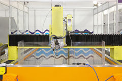 Water jet cutter Stock Images