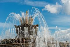 Water jets royalty free stock photos