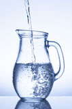 Water in a jug  Royalty Free Stock Photography