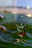 Water juggler Stock Photography