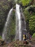 Water Jumog waterfall Stock Photos