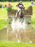 The water jump at Blair Castle. Stock Photography