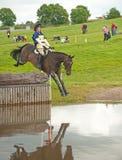 Water jump at Burgie Royalty Free Stock Photos