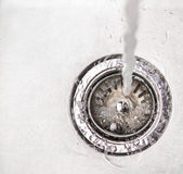 Water In Kitchen Sink III royalty free stock photos