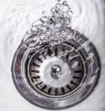 Water In Kitchen Sink XII Royalty Free Stock Image