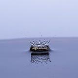 Water krönar fotografering för bildbyråer