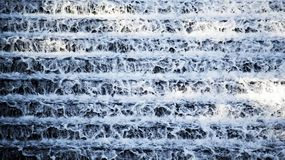 The water ladders. In the countryside royalty free stock photography