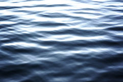 Water lake background with ripples, surface Stock Images