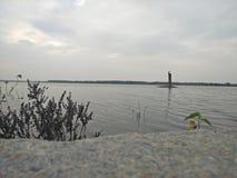 Water of a lake royalty free stock photos