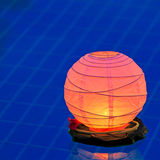Water lantern in the pool Stock Photos