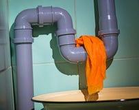 Water leak stock photography