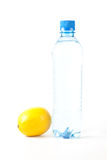 Water and lemon Royalty Free Stock Photography