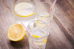 Water  with lemon Royalty Free Stock Image