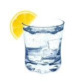 Water with lemon Stock Photos