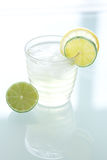 Water with lemon and lime Stock Photo