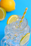 Water with lemons Royalty Free Stock Photography