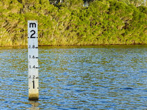 Water level Stock Photo