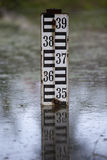 Water level indicator Royalty Free Stock Image